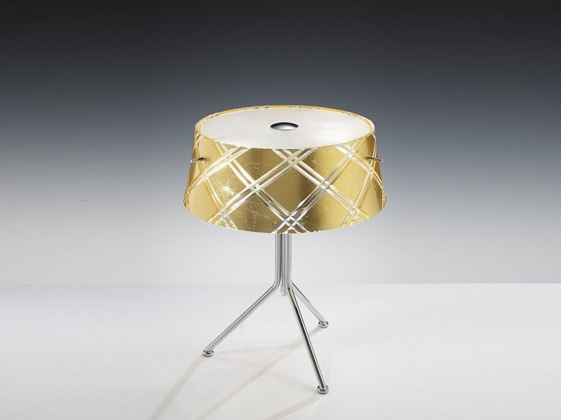 Gold leaf table lamp CORALLO | Table lamp - Metal Lux di Baccega R. & C.