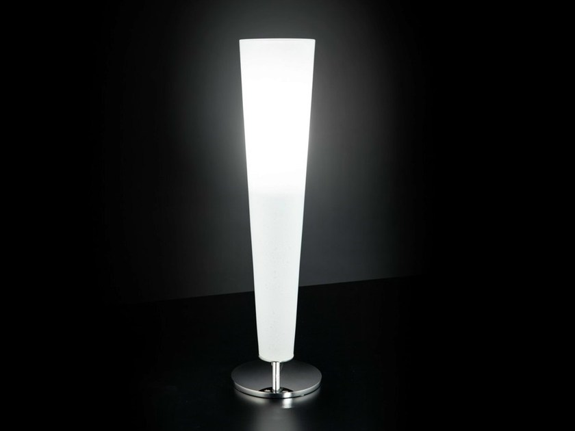 Glass table lamp GOLD FIRE   Table lamp - Metal Lux di Baccega R. & C.