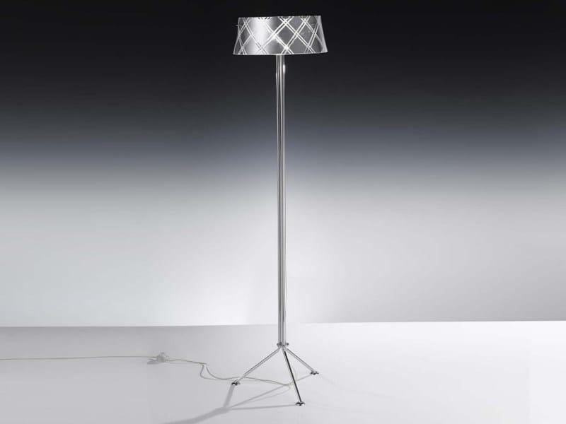 Silver leaf floor lamp CORALLO | Floor lamp - Metal Lux di Baccega R. & C.