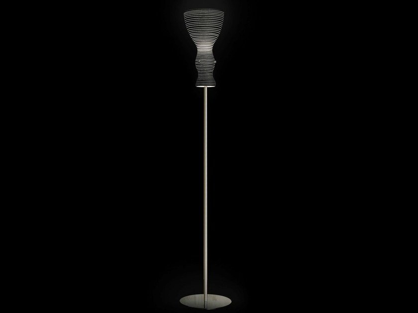 Blown glass floor lamp SCHERZO | Floor lamp - Metal Lux di Baccega R. & C.