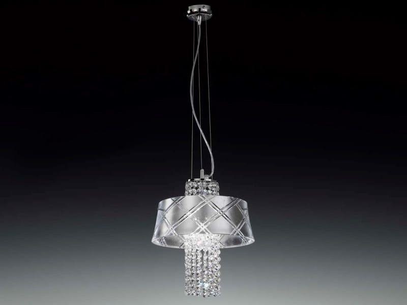Silver leaf pendant lamp MEDUSA | Pendant lamp - Metal Lux di Baccega R. & C.