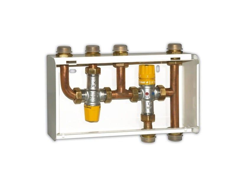 Pannello Solare A Gas : Unità di interfaccia tra pannello solare termico e caldaia