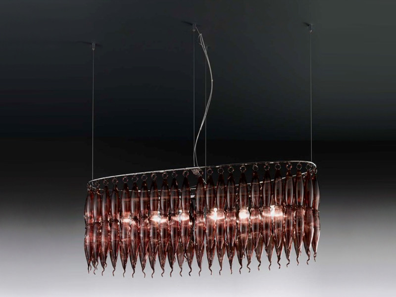 Pyrex® pendant lamp ARENA | Pendant lamp - Metal Lux di Baccega R. & C.