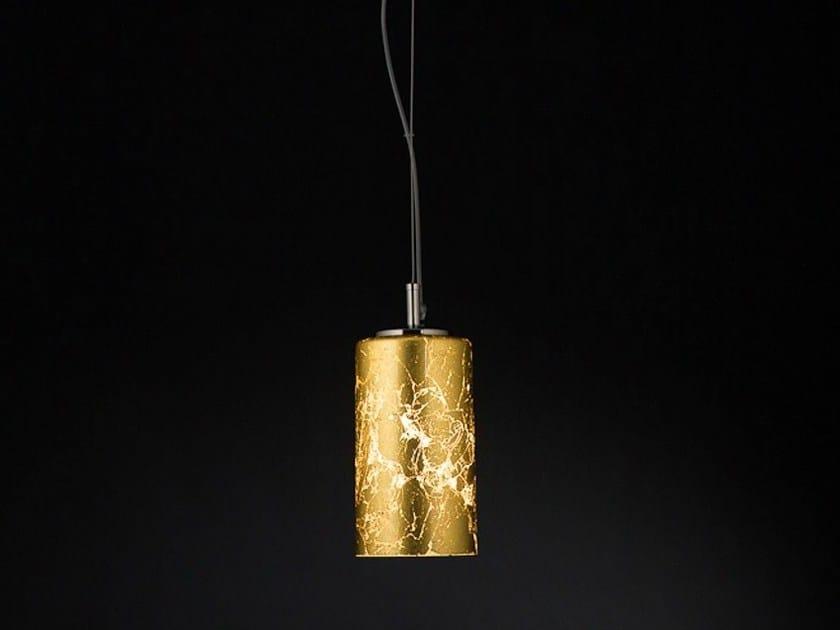 Gold leaf pendant lamp BRICK | Pendant lamp - Metal Lux di Baccega R. & C.