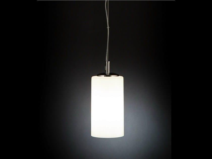 Glass pendant lamp BRICK | Pendant lamp - Metal Lux di Baccega R. & C.