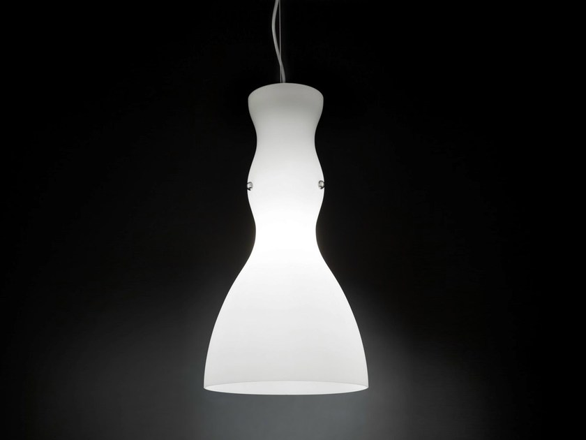 Blown glass pendant lamp SCHERZO | Pendant lamp - Metal Lux di Baccega R. & C.