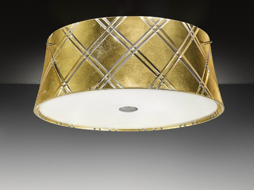 Gold leaf ceiling light CORALLO | Ceiling light - Metal Lux di Baccega R. & C.