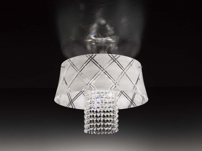 Crystal ceiling lamp MEDUSA | Ceiling lamp - Metal Lux di Baccega R. & C.