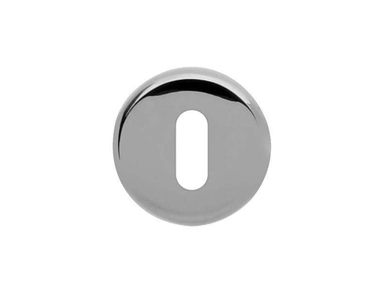 Round brass keyhole escutcheon FILO! | Round keyhole escutcheon - i-DESIGN