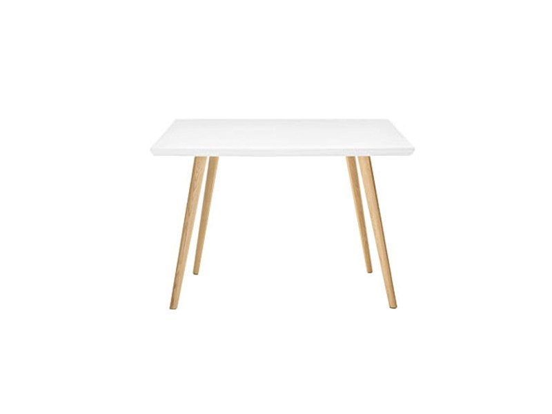 Square wooden table GHER | Square table by arper