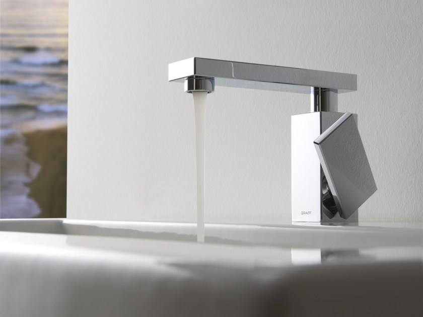 Countertop 1 hole washbasin mixer SOLAR | Washbasin mixer - Graff Europe West