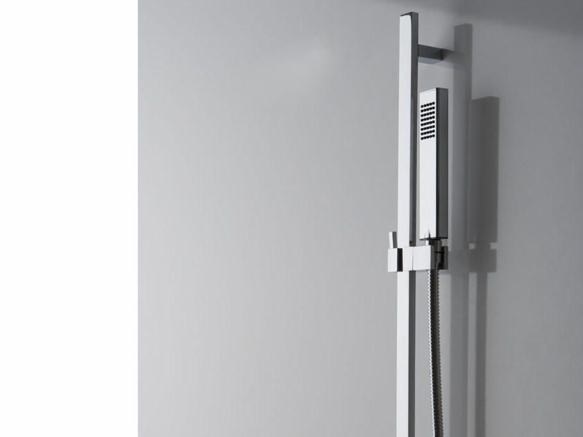 Shower wallbar with hand shower with mixer tap SOLAR | Shower wallbar - Graff Europe West