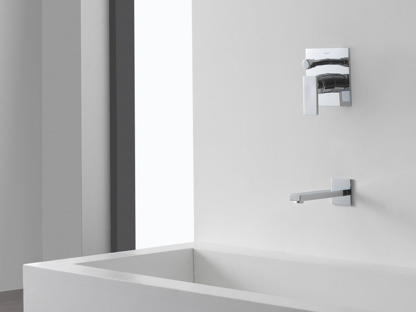 Single handle shower mixer with plate SOLAR | Shower mixer - Graff Europe West
