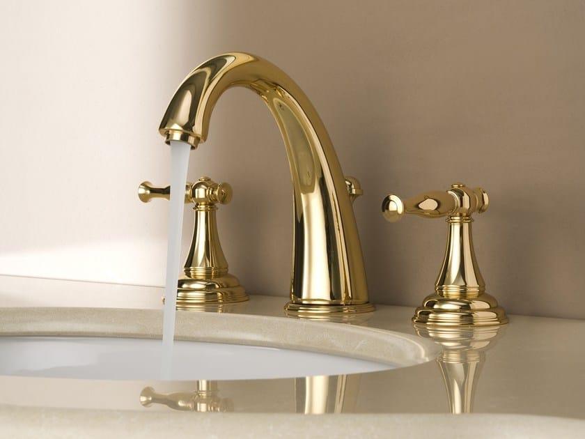 3 hole countertop washbasin tap LAUREN | Washbasin tap - Graff Europe West