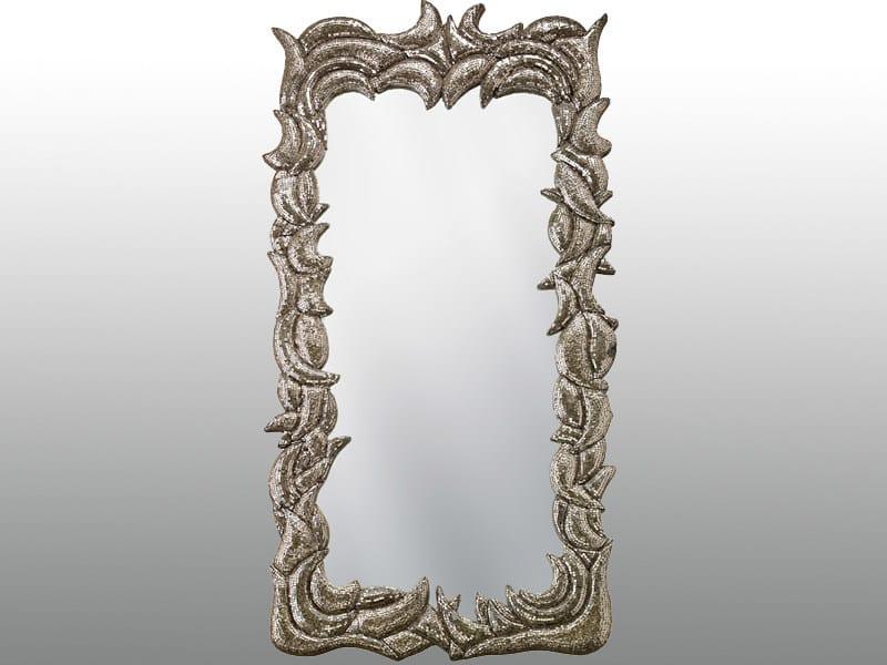 Framed rectangular mirror TERRA - Sicis