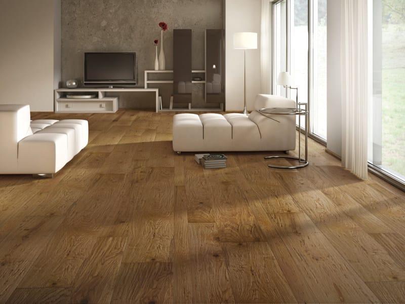 Parquet in legno di recupero rovere antico ideal legno for Spessore parquet