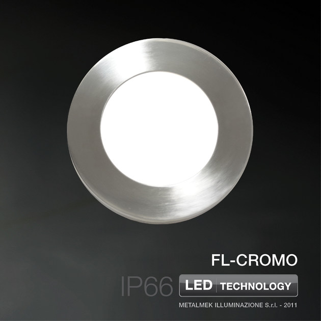 LED Ceiling-Light for Swimming Pools for Public Areas FL-CROMO - METALMEK ILLUMINAZIONE