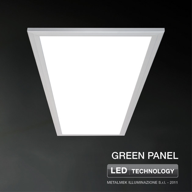 LED recessed ceiling lamp GREEN PANEL - METALMEK ILLUMINAZIONE