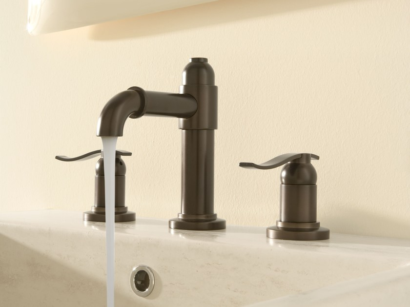 3 hole countertop washbasin tap BALI   3 hole washbasin tap by Graff Europe West