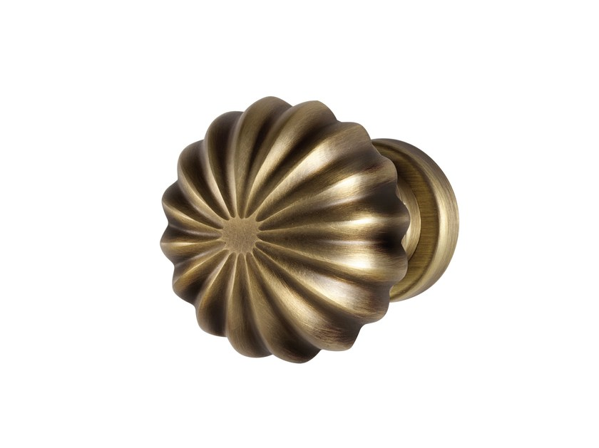 Classic style brass door knob MONTEROSSO - i-DESIGN