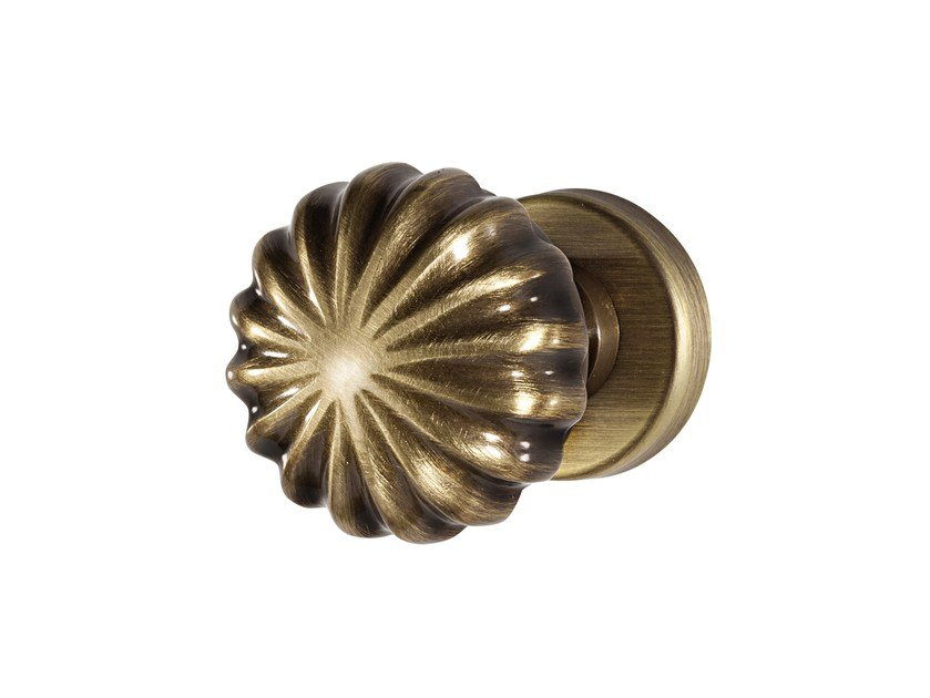 Classic style brass door knob VERNAZZA - i-DESIGN