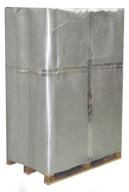 Aluminium thermal insulation felt OVER-FOIL RAD by OVER-ALL