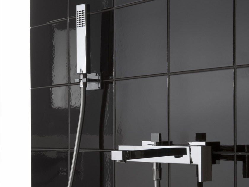 Wall-mounted bathtub mixer with hand shower TARGA | Bathtub mixer by Graff Europe West