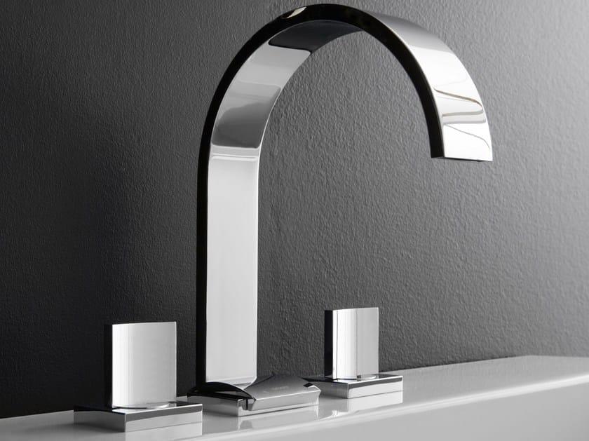 3 hole countertop washbasin tap SADE | Countertop washbasin tap - Graff Europe West