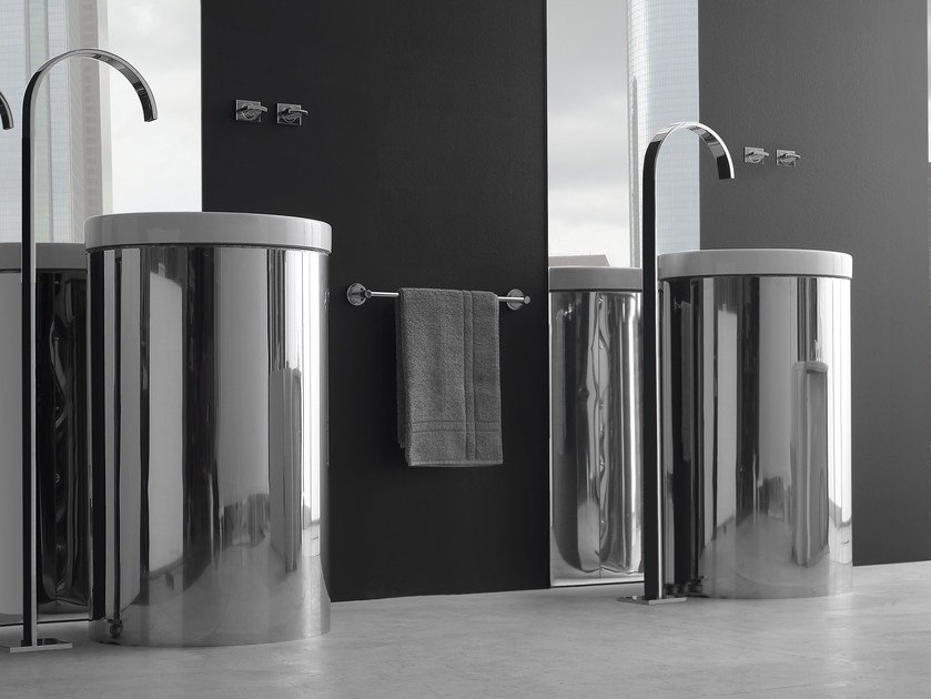 Floor standing washbasin tap SADE | Floor standing washbasin tap - Graff Europe West
