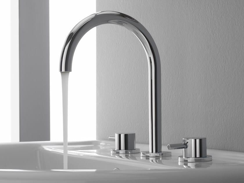 3 hole washbasin tap M.E. 25 | Washbasin tap - Graff Europe West