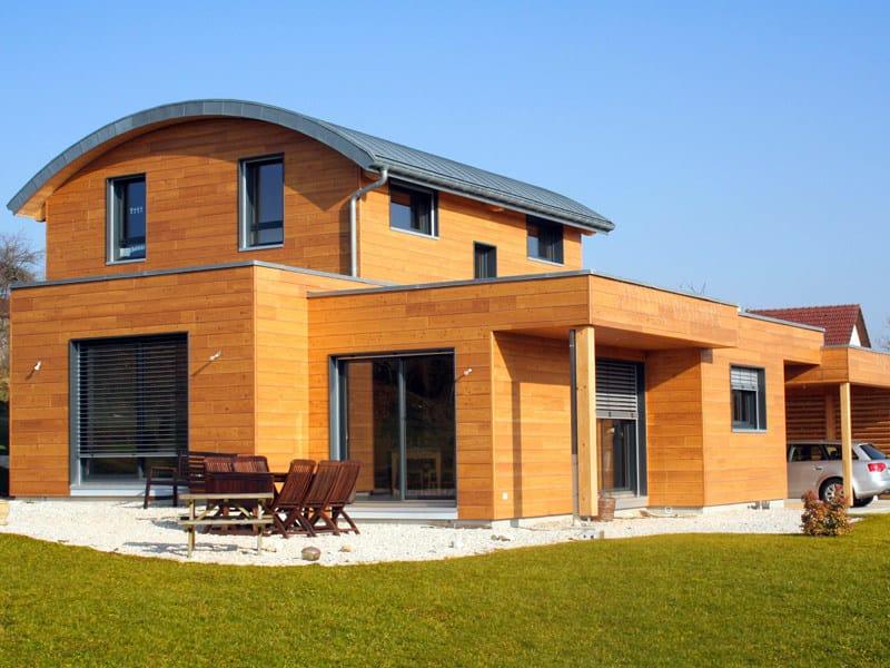 Casa in legno casa in legno simonin for Case prefabbricate puglia