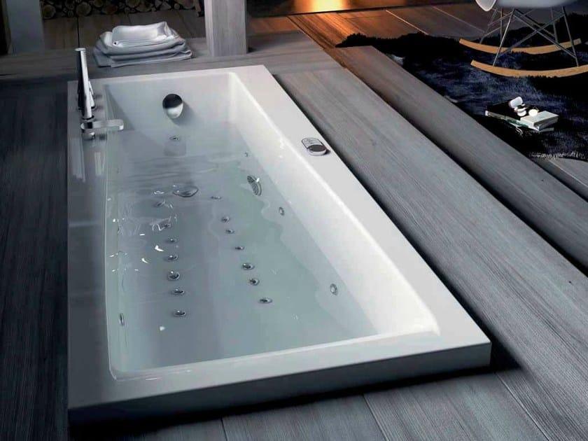 Whirlpool built-in bathtub URBAN-B | Built-in bathtub - Glass 1989