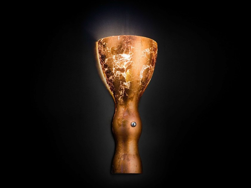Copper leaf wall light SCHERZO | Wall light by Metal Lux