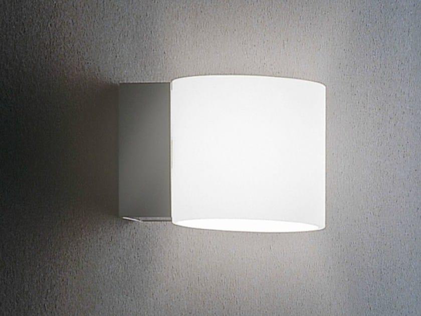 Glass wall light BRICK   Wall light by Metal Lux