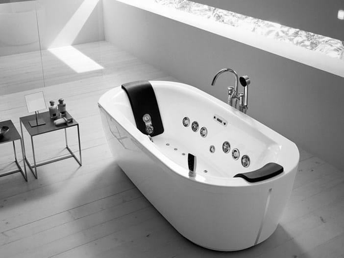 Vasca da bagno idromassaggio noovalis by teuco guzzini design frog design - Teuco whirlpool ...
