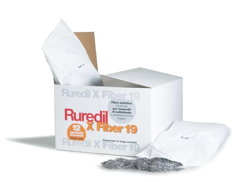 Fibre for concrete strengthening RUREDIL X FIBER 19 - RUREDIL