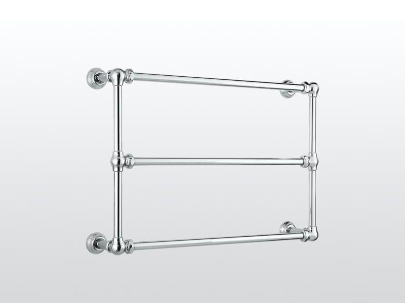 Wall-mounted chrome towel warmer Towel warmer - RUBINETTERIE STELLA