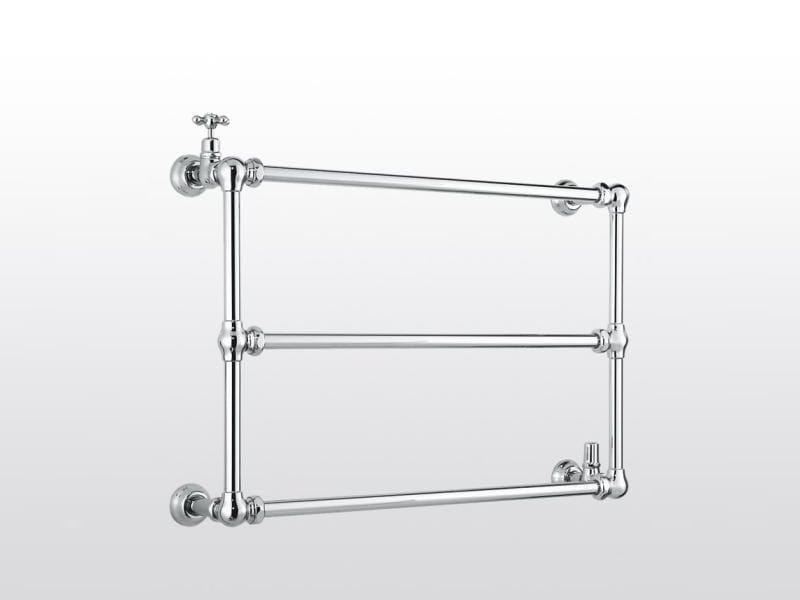 Wall-mounted chrome towel warmer ROMA | 981B - RUBINETTERIE STELLA