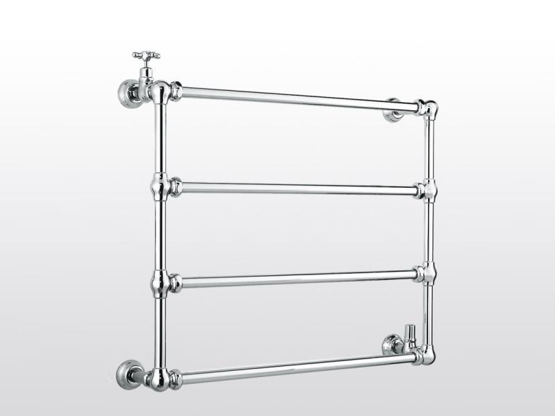 Wall-mounted chrome towel warmer ROMA | 983B - RUBINETTERIE STELLA