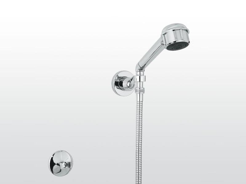 Wall-mounted 3-spray handshower with hose Handshower with hose - RUBINETTERIE STELLA