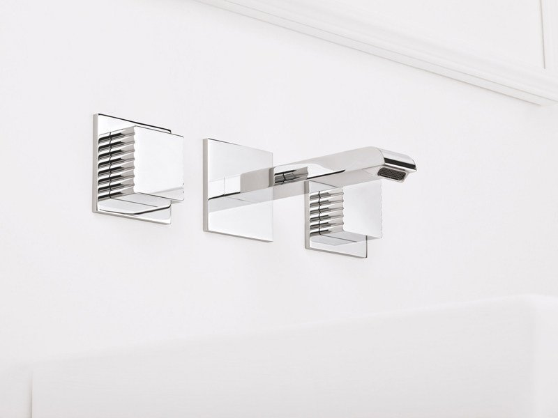 3 hole wall-mounted washbasin tap CASANOVA 3868TR - RUBINETTERIE STELLA