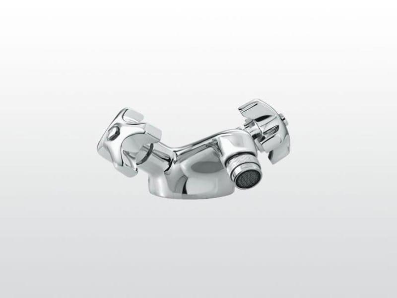 Countertop 1 hole bidet tap EMISFERO | 3602 by RUBINETTERIE STELLA