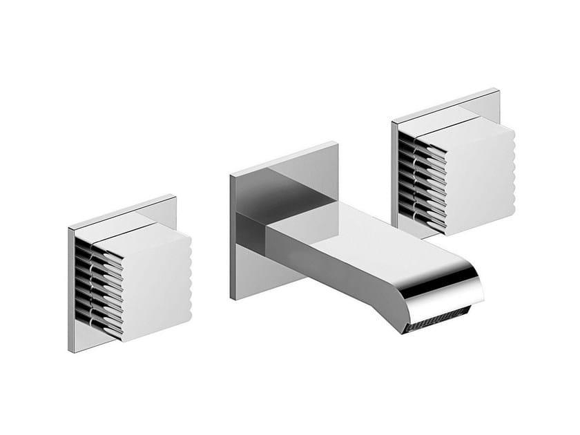 3 hole wall-mounted bathtub tap CASANOVA 3250TR - RUBINETTERIE STELLA