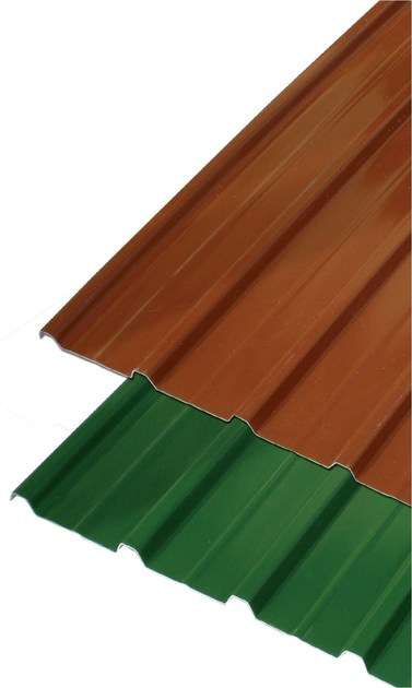 Roof panel in opaque plastic laminate GUTTASCUDO® by GUTTA ITALIA