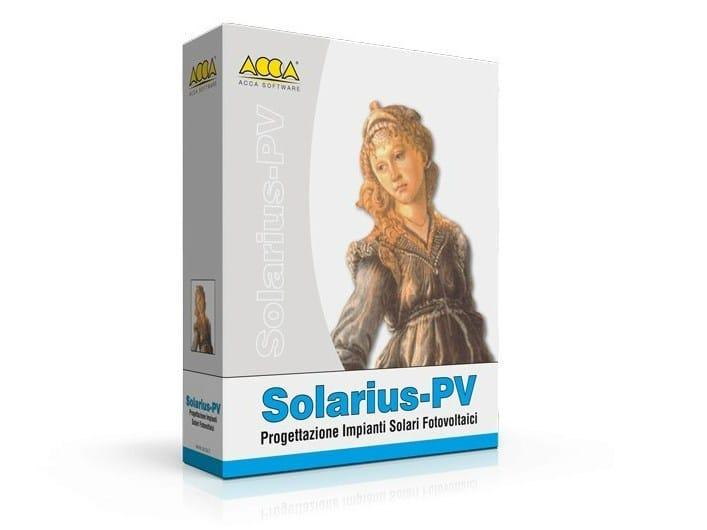 Solar Photovoltaic System Design Solarius-PV - ACCA software