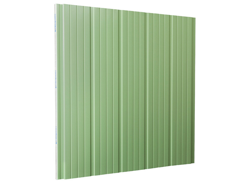 Insulated metal panel for facade ISOPARETE® - ISOPAN