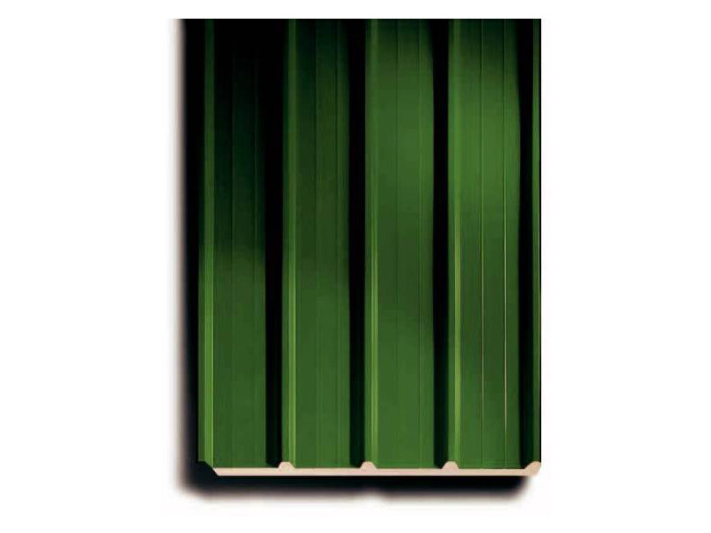 Insulated metal panel for roof ISODECK 40 - ISOPAN