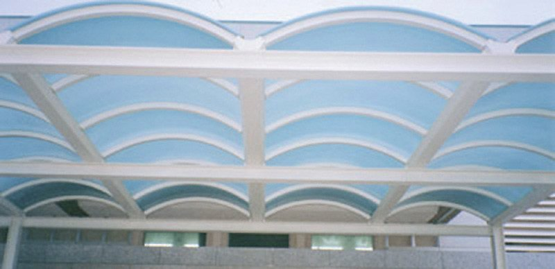 Continuous rooflight ISOCARB - ISOPAN