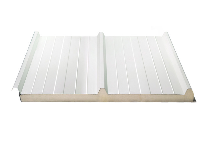 Insulated metal panel for roof ISOTEGO by ISOPAN