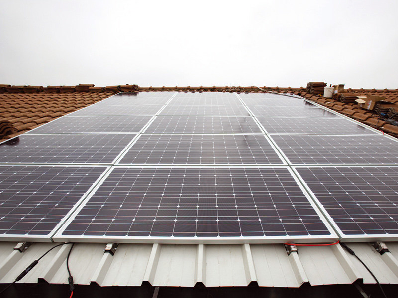 Support for photovoltaic system Roofing subsystem by MANNI ENERGY